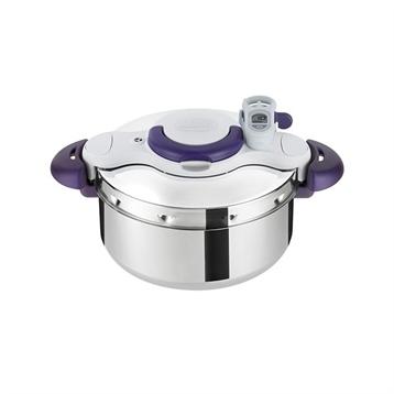 Seb Autocuiseur clipsominut perfect Cocotte-Minute® 4,5 L indigo P4620600 Seb