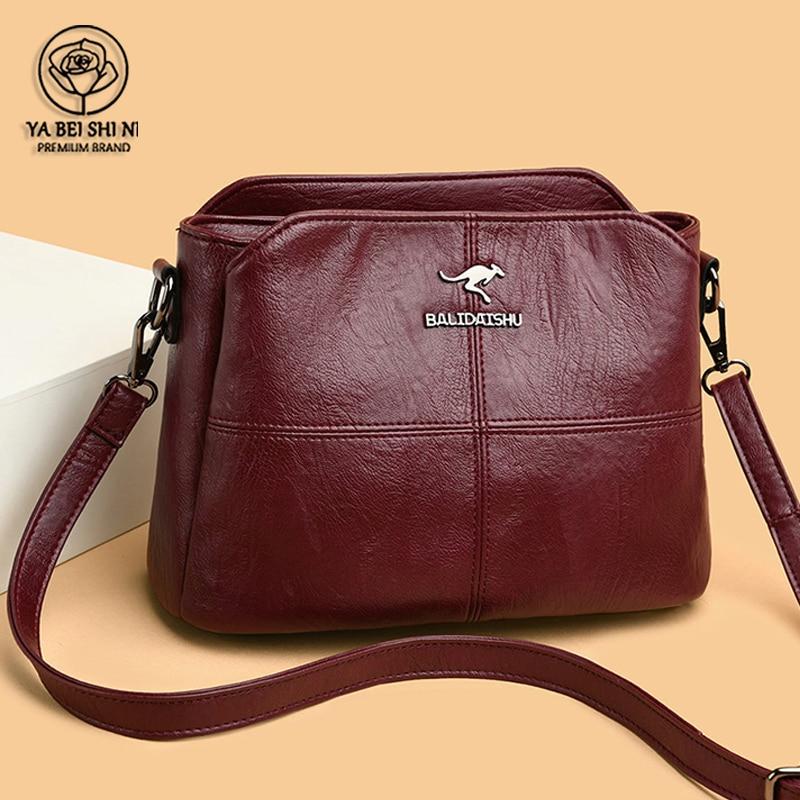 AliExpress Sac à bandoulière rétro pour femmes, grande capacité, sacs à main en cuir de bonne qualité, petit
