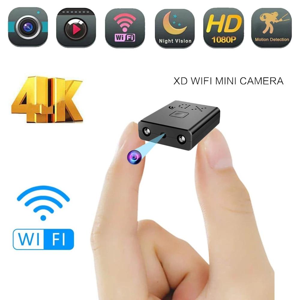 AliExpress Mini caméra Wifi Full HD 1080P, caméscope de sécurité à domicile, Vision nocturne, Micro caméra