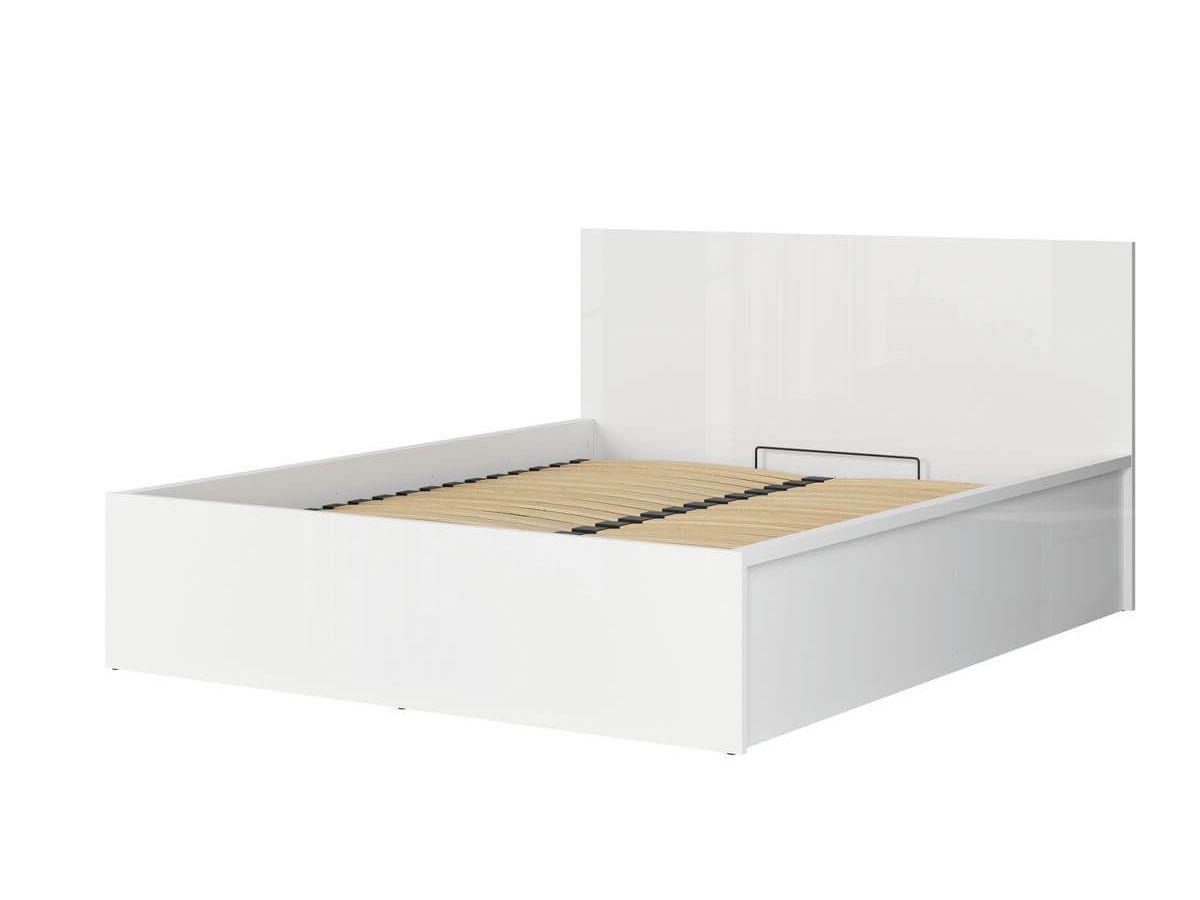 BOBOCHIC Lit coffre MATRIZ Blanc 160x200