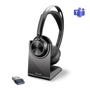 Poly Voyager Focus 2 UC USB-A MS avec base de recharge