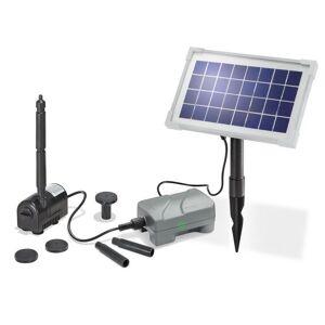 Esotec Kit pompe solaire petit bassin Rimini Plus N avec batterie