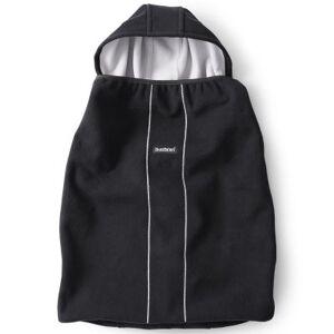 Cape pour porte bébé noire