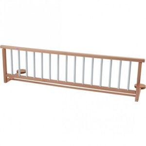 Barrière de lit en bois de hêtre Hybride blanc