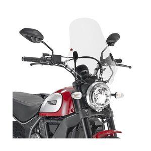 Givi 7407A - Givi Pare-brise incolore 48x43,5 cm Ducati Scrambler 800 (15 > 16)