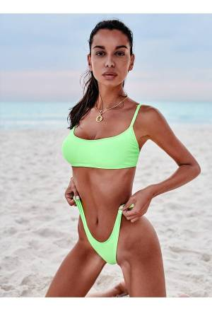 Obsessive Mexico Beach bikini green - L (40)