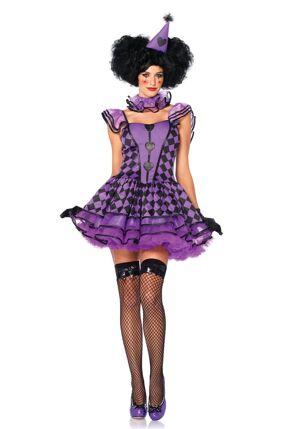LegAvenue Costume Femme Clown - S/M (36-38)