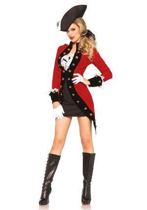 LegAvenue Costume Femme Pirateau - M (38)