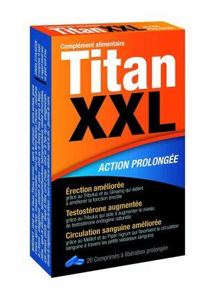 Labophyto Titan XXL 20 gélules - Taille Unique (S-M-L)
