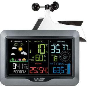 LA CROSSE TECHNOLOGY Station Météo  Pro   wifi  ou DCF77 couleur  Capteur solaire porté 100m LA CROSSE TECHNOLOGY WS6867-WS6868