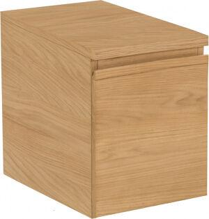 Destock Meubles Meuble de salle de bain chêne naturel 1 porte