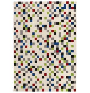 gdegdesign Tapis design rectangulaire multicolore 230x160 cm - Palerme