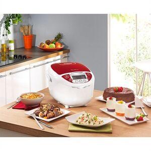 Moulinex Multicuiseur traditionnel 12 en 1 rouge 5 L MK705111 Moulinex