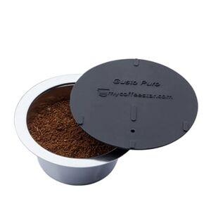 Capsule rechargeable compatible machine à café Dolce Gusto avec couvercle et doseur