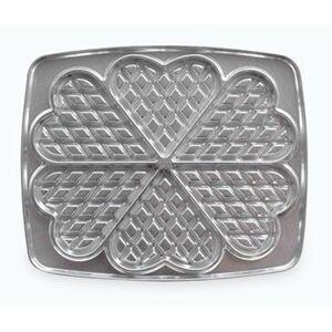 Lagrange 2 Plaques 6 gaufres cœurs fonte aluminium 23,8 cm 030521 Lagrange