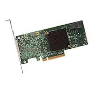 Broadcom MegaRAID SAS 9341-4i - contrôleur de stockage (RAID) - SATA 6Gb/s / SAS 12Gb/s - PCIe 3.0 x8