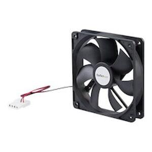 StarTech.com Ventilateur PC à Double Roulement à Billes - Alimentation LP4 - 120 mm - kit de ventilation pour ordinateur