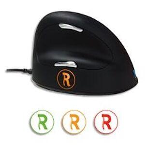 R-go tools Mouse break, souris ergonomique, logiciel anti-rsi,M/L, droite, filaire RGOBRHEMLR