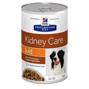 Hill's Prescription Diet 24x354g k/d Kidney Care Mijoté poulet, légumes Hill's Prescription Diet - Pâtée pour chien