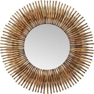 Kare Design Miroir rond en bois recyclé D120