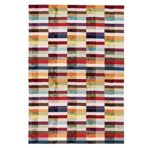 Novatrend Tapis tufté main en Viscose Multicolore 160x230 cm