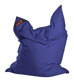 Sitting Point Coussin géant en polyester imperméable bleu