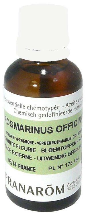 Pranarom rosmarinus officinalis ct3 30ml
