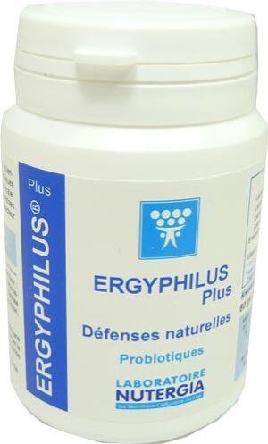 Nutergia ergyphilus plus defenses naturelles 60 gelules