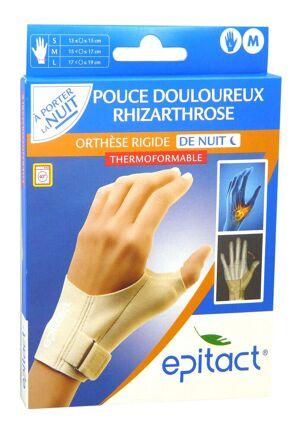 Epitact orthese pouce de nuit main gauche m