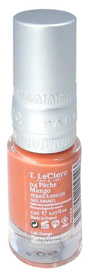 T.leclerc vernis 04 peche mango 5ml