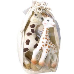Sophie la girafe set peluche