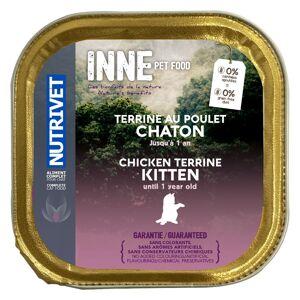 Nutrivet 20x150g Inne Terrine Kitten Nutrivet - Pâtée pour chat