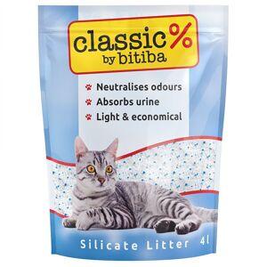 Classic by Bitiba 8x4L Litière de silice Classic by Bitiba MATINA - Litières pour Chat