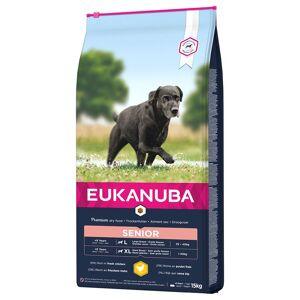 Eukanuba Caring Senior Large Breed, poulet - lot % : 2 x 15 kg