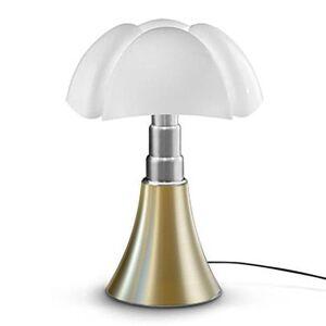 Martinelli Luce Lampe à poser Martinelli Luce PIPISTRELLO-Lampe ampoules LED pied télescopique H66-86cm Laiton