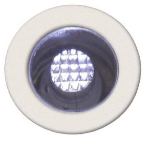 Brilliant Spot extérieur Brilliant COSA-Kit de 10 Spots ronds LED encastrables d'extérieur Ø1,5cm Blanc