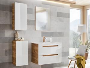 Vente-unique.com Ensemble ARUBA - meubles de salle de bain - blanc 80 cm