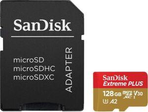 Sandisk Carte SANDISK microSD EXT PLUS 128Go