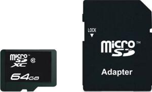Essentielb Mémoire ESSENTIELB 64Go micro SDXC Perfo