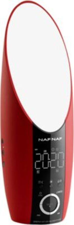Nafnaf radio-réveil NAFNAF Zen Rouge