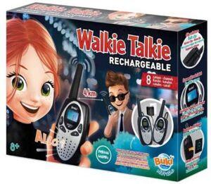 Buki Jeu BUKI Talkie Walkie rechargeable