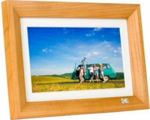 Kodak CADRE PHOTO KODAK 7' cadre bois