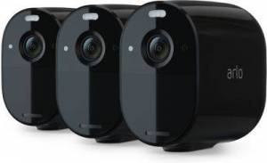 Arlo Caméra ARLO Essential Noir x3 VMC2330B