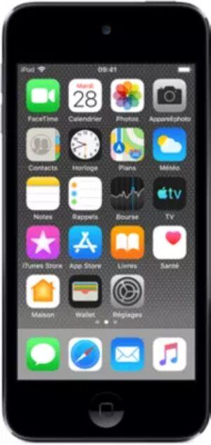 Apple Ipod Bal.mp4 APPLE IPOD Touch 32 Go Gris Sidé