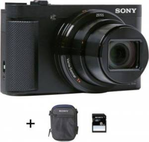 Sony APN SONY DSC-HX80 + Etui + SD 8Go