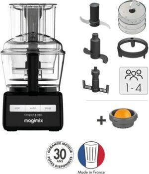 Magimix Robot MAGIMIX CS 3200XL NOIR + Presse Ag