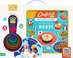 Chef Club Coffret CHEF CLUB Les Recettes du monde