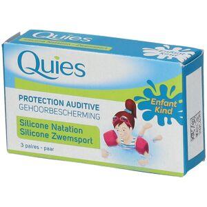 Quies silicone bouchons auriculaire natation enfants pc(s) Bouchons doreille