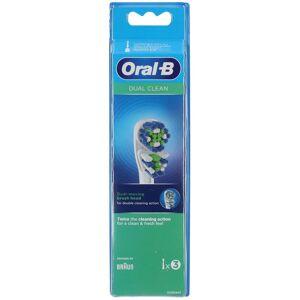 Oral-B® Oral-B Dual Clean Brossettes De Rechange pc(s) brosse(s) à dents