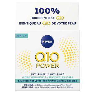 NIVEA Q10 Power Anti-Rides + Ressserre les pores Soin de jour SPF15 ml crème de jour